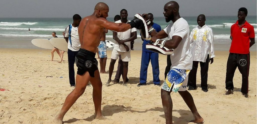 Interview of coach Baba Sakho, leader of MuayThai Guerrilla.
